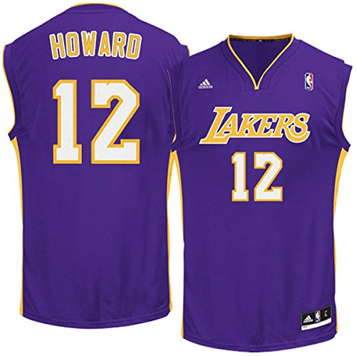 NBA Los Angeles Lakers Dwight Howard Road Youth Replica Jersey - Size: Medium