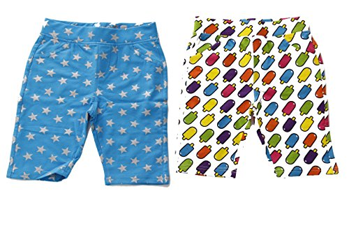 28503-Print3-14/16 Just Love Girls Bermuda Shorts (Pack of 2) (Terry Bermuda)