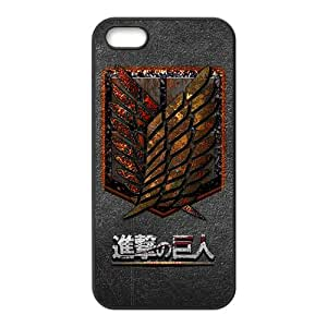 The Cartoon Anime Attack On Titan Cell Phone Case for Iphone 5s