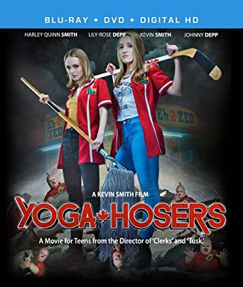Amazon.com: Yoga Hosers [Blu-ray]: Johnny Depp, Lilly-Rose ...