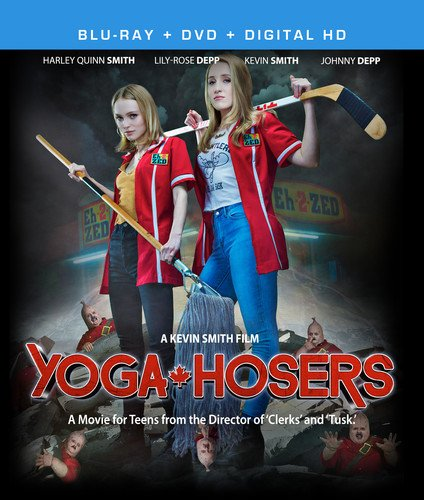Yoga Hosers [Blu-ray] -  Rated PG-13, Kevin Smith, Johnny Depp