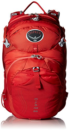 Osprey Packs Women's Mira AG 26 Hydration Pack, Cherry Red, X-Small/Small