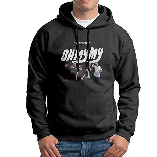 Mens OneRepublic - Oh My My Hooded Pullover Printing Sweatshirts