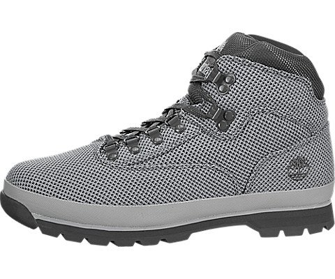 Timberland Euro Hiker Mid Fabric Men's Boot 8.5 D(M) US Grey by Timberland