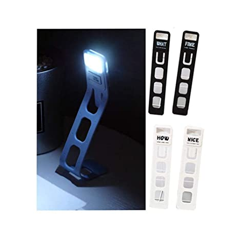 greetuny LED recargable lámpara de lectura libro lámpara clip ...