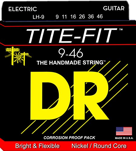 DR Strings Tite Fit Electric Round Core 9-46