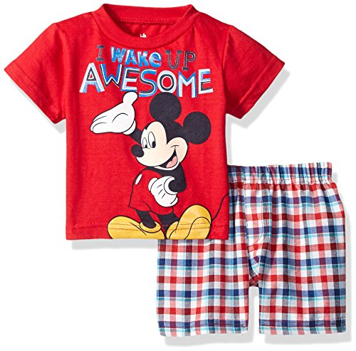 Disney Mickey Mouse Plaid Short