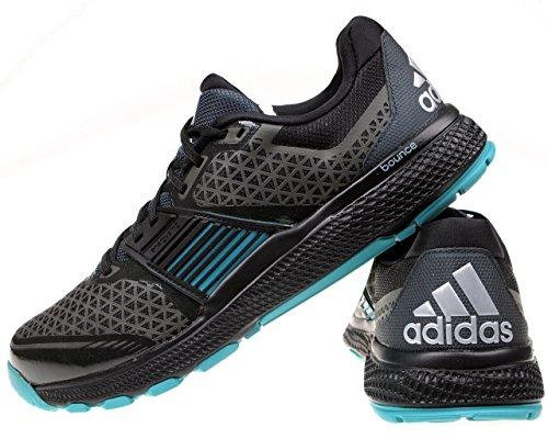 Herren Adidas Crazytrain Bounce Laufschuhe, 207681 in Schwarz