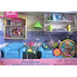 Amazon Barbie Decor Collection Living Room Playset
