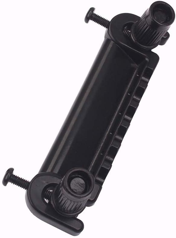SUPVOX Wraparound Roller Bridge Saddle Tapepiece Combo para accesorios de piezas de repuesto de guitarra el/éctrica negro