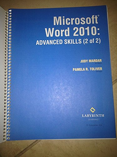 Buy microsoft word 2010 mastery series