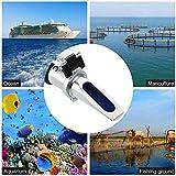 KKmoon Salinity Refractometer, Handheld Seawater