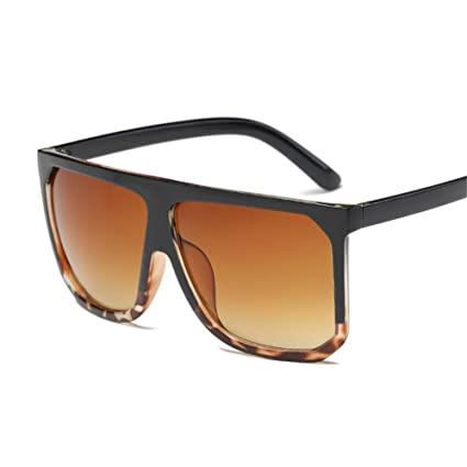 iShinê Señoras de Moda Gafas de Sol de Resina Cuadrado de ...