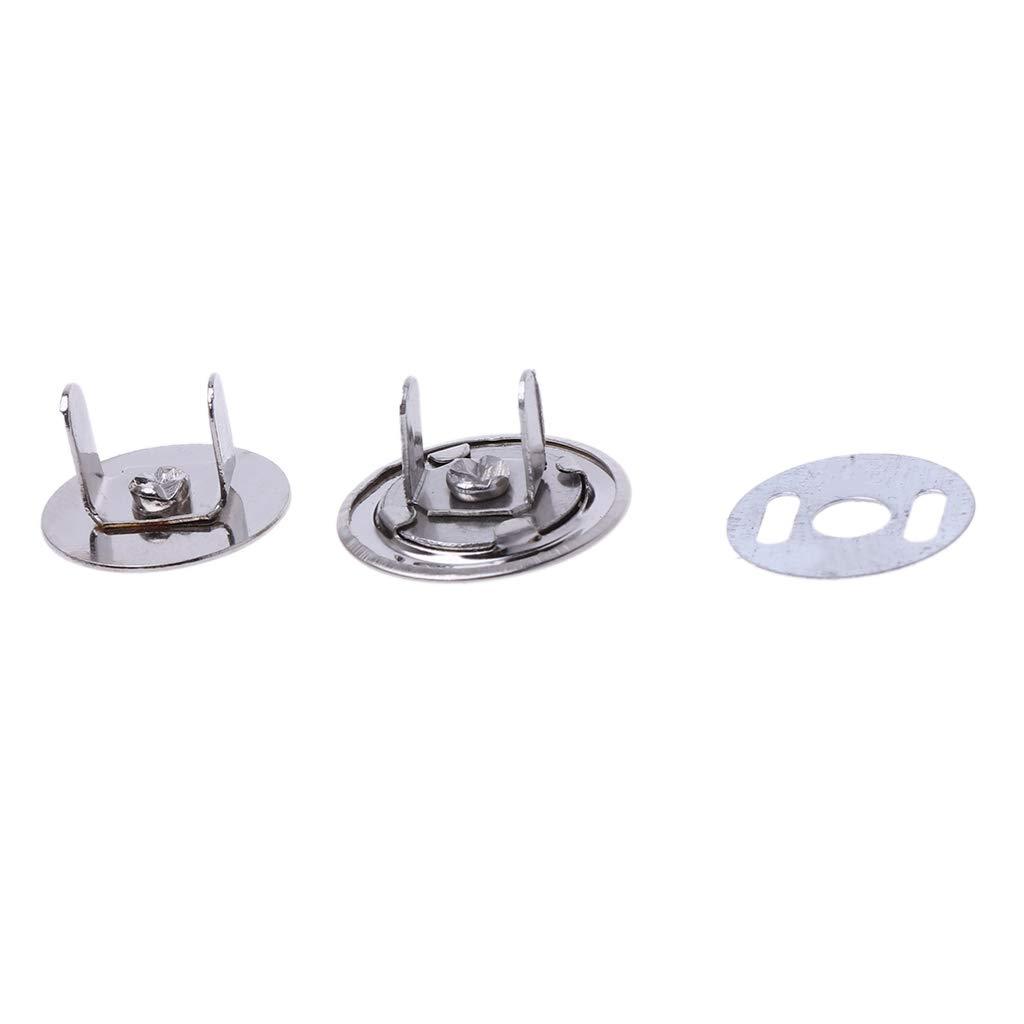 JunYe 10 Juegos de broches de presi/ón magn/éticos de Metal de 14 mm 16 mm para Coser Bolso Bolso Bolso Craft VIccoo Cierre magn/ético a presi/ón