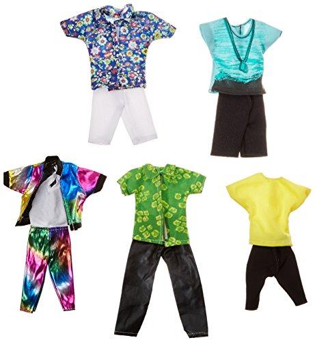 Fashion Casual pantalón ropa de muñecas Tops Outfit para Boy Friend de Barbie Ken muñeca