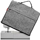 NICOGENA Sewing Machine Dust Cover with Storage