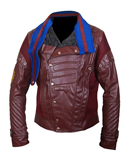 2 Galaxy Lord Star Chris Guardians The Of Vol F amp;h Jacket Maroon Pratt Men's PXfv0a