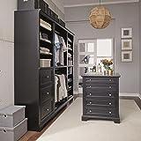 Home Styles 5531-7591 4 Piece Closet Organizer