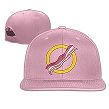 Super Bacon Sign Flat Brim Baseball Hat