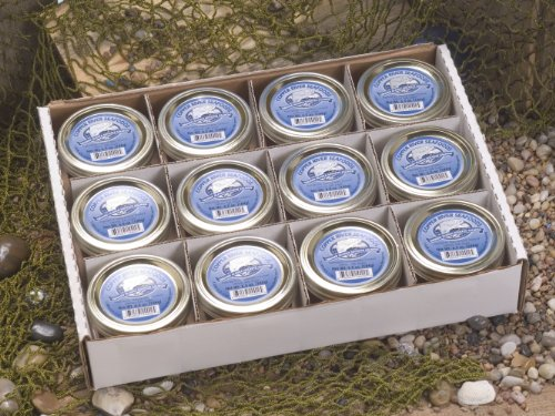 Copper River Seafoods Smoked Alaska Sockeye Salmon - 12-6.5 oz Jars