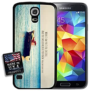 Ocean Sea Boat Love Shakespeare Quote Galaxy S5 Hard Case