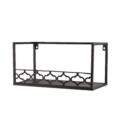Amazoncom Ailjqj Ailj Floating Shelf Ledge Wall Wrought Iron