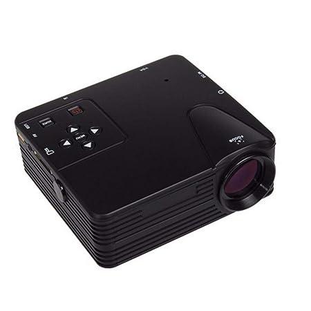 WZHESS Mini proyector LED portátil, 24W Mini proyector ...
