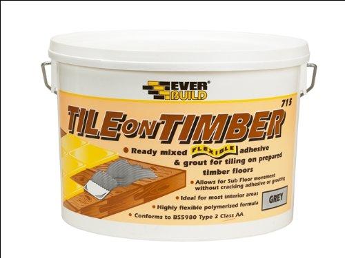 Everbuild TOT10 Tile on Timber 715 10Kg EVBTOT10