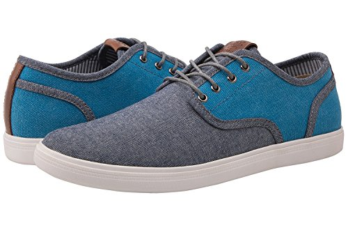 GLOBALWIN Mens Casual Fashion Sneakers (11 D(M) US, 1807blue) (Fashion Over 5)