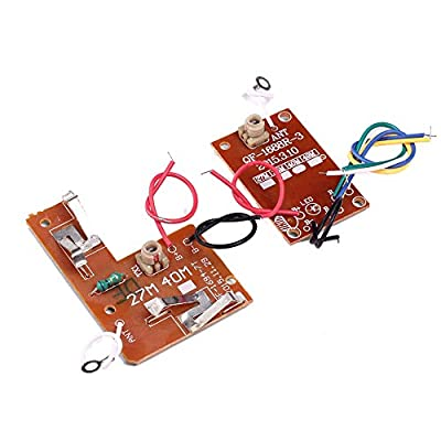 IS Icstation 27Hz Simple 4 Channel Radio RC Transmitter Receiver Kit for DIY Remote Control Boat Car Projects: Toys & Games