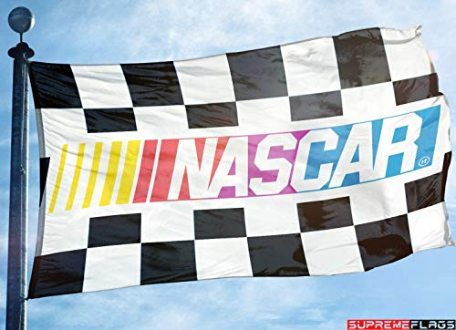 (Nascar Flag Banner 3x5 ft National Association Stock Car Auto)