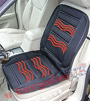 Universal 12v Heated Car Seat Cover Single