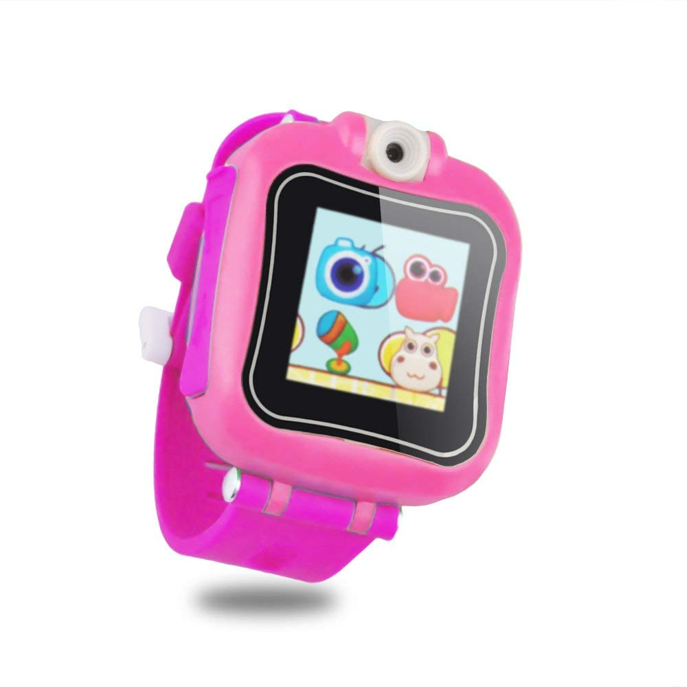 IREALIST Kids Smartwatch, Touchscreen Smart Watch with 90°Rotating Camera, Support Take Photos, Play Games, Video/Sound Recording,Timer, Alarm Clock by IREALIST (Image #2)