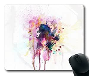 Abstract Paint Amazing Mouse Pad, Fashion Soft Mouse Pad by mcsharks