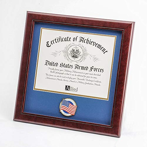 Allied Frame Patriotic Certificate of Achievement Frame ()
