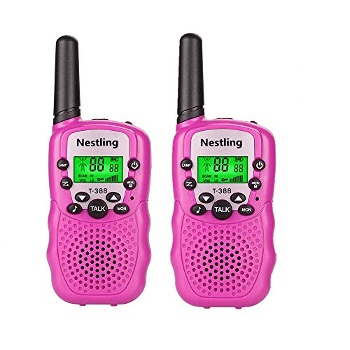 Toys for 3-12 Year Old Girls, Kids Walkie Talkies for Kids Toys for 3-12 Year Old Girls Gift for Age 3-12 Girls Pink ()