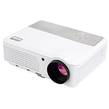 Ezapor Full HD-Proyector, 2600 lúmenes, colores, resolución de ...
