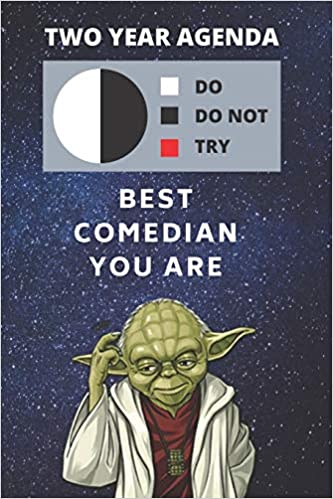Best Stand Up Comedy 2021 2020 & 2021 Two Year Daily Planner | Best Gift For Comedian