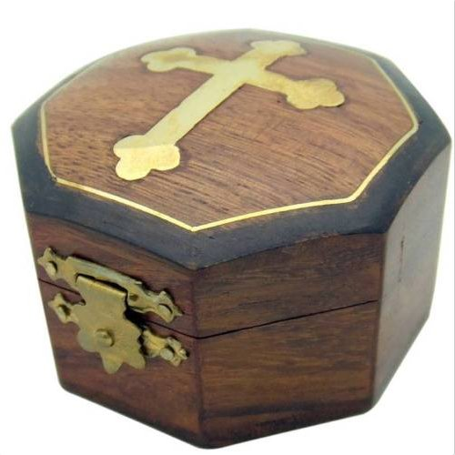 SSJSHOP Wooden Box Gold Plate Collection Gift