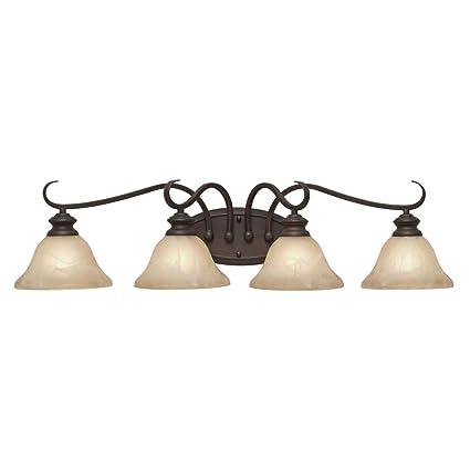 golden lighting fixtures rubbed bronze golden lighting 6005ba4 rbz lancaster four light vanity rubbed bronze finish