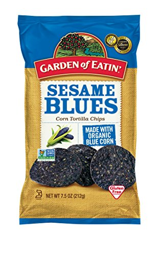 sesame corn chips - 1