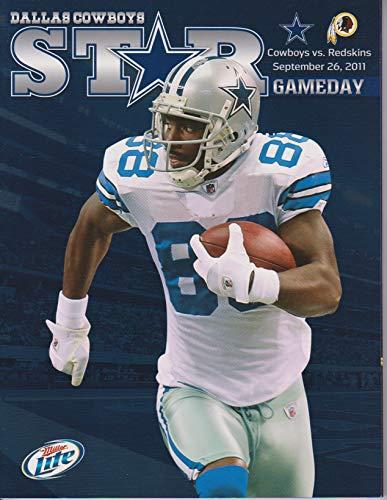 - Dallas Cowboys vs Washington Redskins STAR Gameday Program September 26, 2011 Dez Bryant