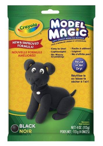 Crayola Model Magic  4 Ounce  Black Case Of 12 Packs