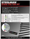 Steelman 7-Piece Spare Tire Retrieval Tool Kit
