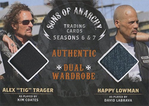 Sons of Anarchy Seasons 6 & 7 Costume Wardrobe Card DM07 Coates and Labrava (Sons Anarchy Wardrobe Of Cards)
