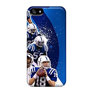 Tpu Case For Iphone 5/5s With Indianapolis Colts