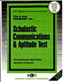 Scholastic Communications and Aptitude Test, Jack Rudman, 0837367522