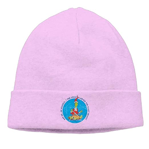 Amazon.com  Kyliel Soft Beanies Cap-Dr Seuss The Grinch Christmas ... 566beb9ceaf