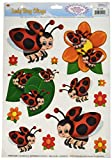Kitchen & Housewares : Beistle 54425 Lady Bug Clings, 12 by 17-Inch