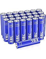 EBL Alkaline Batterien AAA Batterien 28 Stück LR03 Alkaline Batterien Super Alkaline Longlife Technologie(z.B. für Maus, Taschenlampe, Fernbedienung uzw.)
